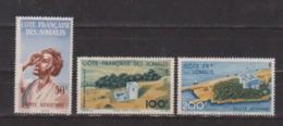 COTE DES SOMALIS     N°  YVERT  :   PA 20/22   NEUF AVEC  CHARNIERES      ( Ch 2144  ) - Côte Française Des Somalis (1894-1967)