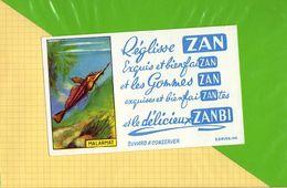 BUVARD & Blotting Paper : Reglisse ZAN  Malarmat - Cake & Candy