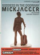 Publicité Pour Revendeur , Goddess In The Doorway , Mick JAGGER , 2 Pages , 2 Scans  , Frais Fr 1.45 E - Advertising