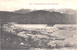 FR66 LES BOUILLOUSES - Brun 1397 - Construction Du Barrage Côté De La Petite Bouillouse - Belle - Autres Communes