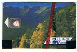 CARTE NEUVE SOUS BLISTER ANDORRE  LA MISSATGERIA 100 UNITES      *** RARE  SAISIR *** - Andorra
