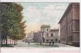AK - Tschechien - Oderfurt - PÅ™ívoz - Bahnhofsplatz U. Ispektoratsgebäude - 1917 - Feldpost - Tschechische Republik