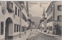 AK - Bayern - Partenkirchen - Strassnansicht - 1920 - O. Zieher - Garmisch-Partenkirchen