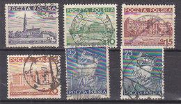 PGL - POLAND Yv N°391/96 - Oblitérés