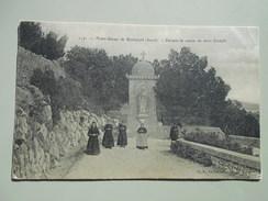 GARD NOTRE DAME DE ROCHEFORT DEVANT LA STATUE DE SAINT JOSEPH - Rochefort-du-Gard