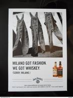 Jack Daniel's Scotch Wisky Alcoolich Drink Carte Postale - Advertising