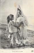 Femme Juive Et Sa Fille (Egypte?) - Carte ND Phot. Non Circulée - Afrique