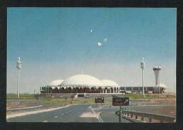 United Arab Emirates UAE Sharjah Picture Postcard Sharjah International Airport View Card - Dubai