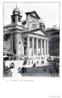 [DC9234] CPA - GENOVA - SS. ANNUNZIATA - ANIMATA - Non Viaggiata - Old Postcard - Genova