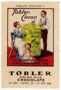 (I.B) Cinderella Collection : Tobler Chocolate Series 58 (Cacao) - Switzerland
