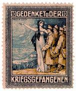 (I.B-CK) Germany (Great War) Cinderella : Prisoner Of War Charity Stamp 10pf - Germany