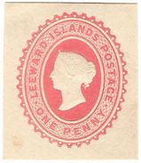 (I.B) Leeward Islands Postal : Postal Stationery Die 1d - Leeward  Islands