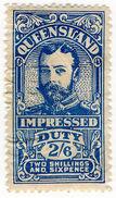 (I.B) Australia - Queensland Revenue : Impressed Duty 2/6d - Australia