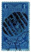 (I.B) Australia - Victoria Revenue : Stamp Statute 1/- (postally Used) - Australia