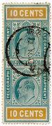 (I.B) Ceylon Telegraphs : 10c (not Colombo) - Ceylon (...-1947)