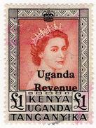 (I.B) KUT Revenue : Uganda Duty £1 - Kenya, Uganda & Tanganyika