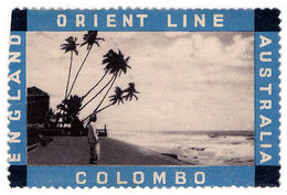 (I.B) Australia Cinderella : Orient Line (Colombo) - Australia