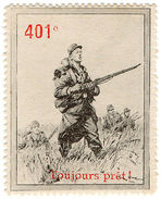 (I.B) Cinderella : Delandre French Regiments - 401st Foot Regiment - 1902-1951 (Kings)