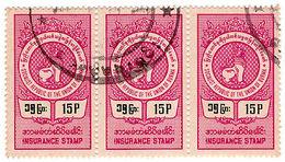 (I.B) Burma Revenue : Insurance 15p - Burma (...-1947)