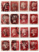 (I.B) QV Commercial Perfin : SG 43 Collection - 1840-1901 (Victoria)