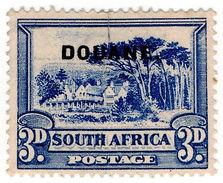 (I.B) South Africa Revenue : Customs Duty 3d - South Africa (...-1961)