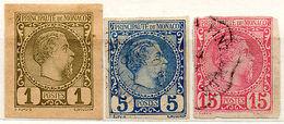 (I.B) Monaco Postal : Postal Stationery Dies Collection - Monaco
