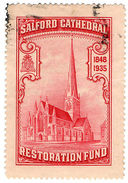 (I.B) Cinderella Collection : Salford Cathedral Restoration Fund - 1902-1951 (Kings)
