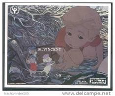 Nct080 WALT DISNEY DE REDDERTJES MUIS MUIZEN MOUSE MICE THE RESCUERS ST. VINCENT 1991 PF/MNH - Disney