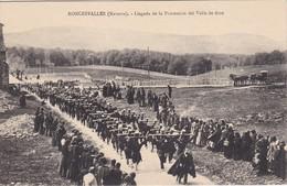 RONCEVEAUX - ORREGA/RONCESVALLES - Llegada De La Procession Del Valle De Arce - Navarra (Pamplona)