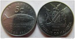 "Namibia 5 Cents 2000 ""F.A.O"" UNC KM# 16 - Namibia"