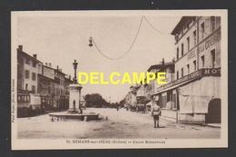DF / 26 DRÔME / ROMANS SUR ISÈRE / COURS BONNEVAUX / HÔTEL DE LA COURONNE, CAFÉ RESTAURANT GUERPILLON - Romans Sur Isere