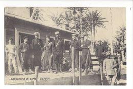 18290 - Libye Somalie  Derna Capitaneria Di Porto + Cachet Division Tripolitania 1.05.1912 - Weltkrieg 1914-18