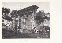 1900 - Iconographie - Dax (Landes) - La Fontaine Chaude - FRANCO DE PORT - Vieux Papiers