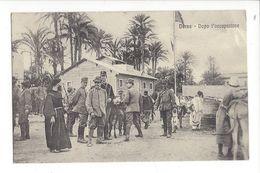 18291 - Libye Somalie Derna Dopo L'occupazione - Weltkrieg 1914-18