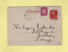 Alesund - Norvege - Destination Suede - 18-1-1947 - Norvegia