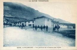LANSLEBOURG(CASERNE DE CHASSEUR ALPIN) - Autres Communes
