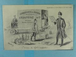 Examination Of The Things To Be Taken Away L'examen Des Choses à Emporter Kronprinz - War 1914-18