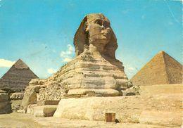 Egypte - Gizèh - 1964 - Le Sphinx - Egyption General Organization For News Publications Nº 746/2 - Ecrite, Timbrée  3028 - Guiza