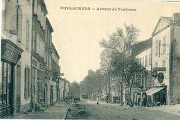 81 - Puylaurens : Avenue De Toulouse - Puylaurens