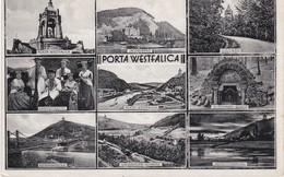 POSTKART DEUTCHE - PORTA WESTFALICA - Porta Westfalica