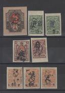 Arménie _ Timbres De Russie  Non Dentelé (1920 )n°88/92 - Armenia