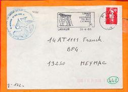 TARN, Lavaur, Flamme SCOTEM N° 12541 - Postmark Collection (Covers)