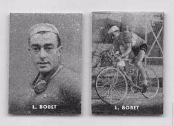 """36 """"LOUISON BOBET 1925 - 1983 CICLISTA """" COPPIA DI FIGURINE ORIGINALI """"NANNINA"""" 1952 - Ciclismo"""