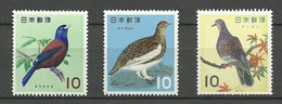 JAPON 1963 .-MI 826/28  **. MNH - Collections, Lots & Series