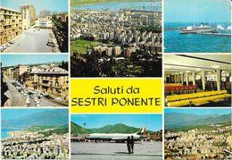 SESTRI PONENTE GENOVA AEROPORTO AIRPORT VG. 1968 - Genova