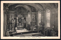 A9350 - Uerdingen A. Rhein - Inners St. Peter Kirche - Gel 1922 - Kayser - Eglises Et Cathédrales