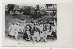CPA Guadeloupe Pointe à Pitre édition PHOS Métier Non Circulé Martinique Dos Non Séparé - Pointe A Pitre