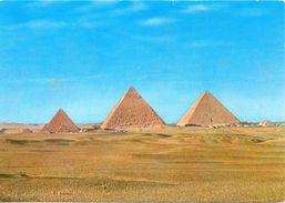Egypte - Giza - Les Trois Pyramides - F.H. Gabra Nº EC/M 14 - 3030 - Pyramids