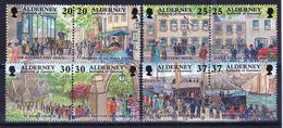 Alderney Set Of Stamps To Celebrate Garrison Island 2nd Series. - Alderney