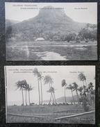 Tahiti Polynesie Raiatea Lot 2 Cpa Colonies Françaises Etablissements Français De L'oceanie - Polynésie Française